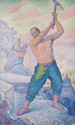 L'Ouvrier ou le Démolisseur (Signac Paul) - Muzeo.com