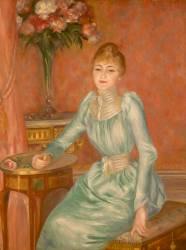 Madame de Bonnières (1854-1906) (Renoir Auguste) - Muzeo.com