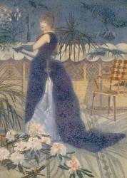 Madame Hector France, née Irma Clare (1849-1933), plus tard Mme Henri Edmond Cross (en1893) (Cross Henri-Edmond) - Muzeo.com