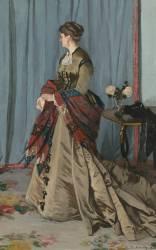 Madame Louis Joachim Gaudibert, née Marguerite Marcel (1846-1877), femme d'un négociant du Havre (Monet Claude) - Muzeo.com