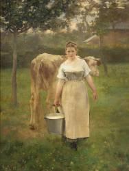 Manda Lamétrie, fermière (Roll Alfred) - Muzeo.com