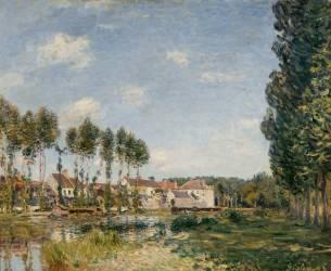 Moret, bords du Loing (Seine et Marne) (Sisley Alfred) - Muzeo.com