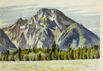 Mount Moran (Hopper Edward) - Muzeo.com
