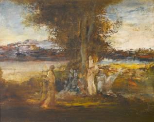Muse et poète (Moreau Gustave) - Muzeo.com