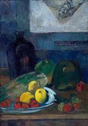 Nature morte au dessin de Delacroix (Gauguin Paul) - Muzeo.com