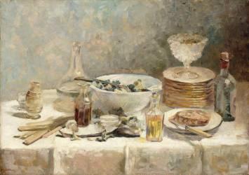 Nature morte à la salade (Vuillard Edouard) - Muzeo.com