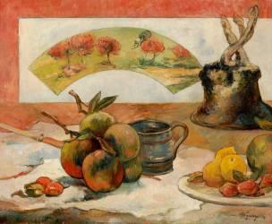 Nature morte à l'éventail (Gauguin Paul) - Muzeo.com