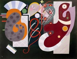 Red Knot (Kandinsky Wassily) - Muzeo.com