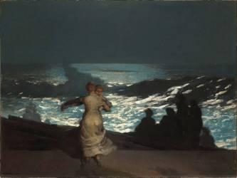 Nuit d'été (Winslow Homer) - Muzeo.com