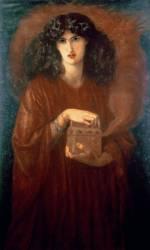 Pandora (Rossetti Dante Gabriel) - Muzeo.com