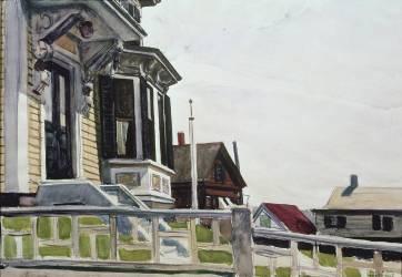 Parkhurst's House (Edward Hopper) - Muzeo.com