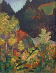 Paysage (Gauguin Paul) - Muzeo.com