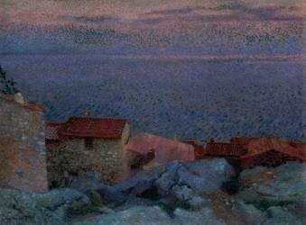 Coastal Landscape (Cross Henri-Edmond) - Muzeo.com
