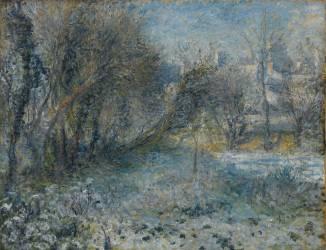 Paysage de neige (Renoir Auguste) - Muzeo.com