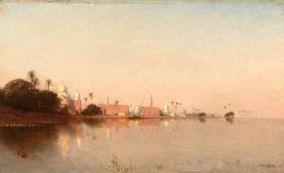 Paysage d'Orient (Narcisse Berchère) - Muzeo.com