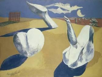 Nocturnal Landscape (Paul Nash) - Muzeo.com