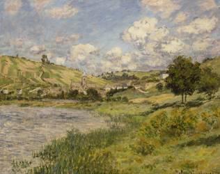 Paysage, Vétheuil (Monet Claude) - Muzeo.com