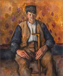 Paysan assis (Cézanne Paul) - Muzeo.com