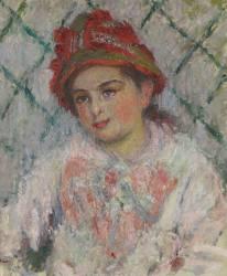 Portrait de Blanche Hoschedé enfant (Monet Claude) - Muzeo.com