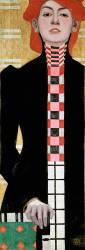 Portrait of a Woman (Schiele Egon) - Muzeo.com