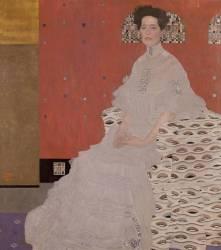 Portrait of Fritza von Riedler (Klimt Gustav) - Muzeo.com