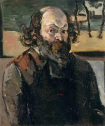 Portrait de l'artiste (Paul Cézanne) - Muzeo.com