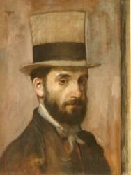 Portrait de Léon Bonnat (Degas Edgar) - Muzeo.com