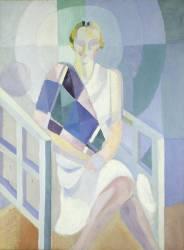 Portrait of Mrs Heim (Robert Delaunay) - Muzeo.com