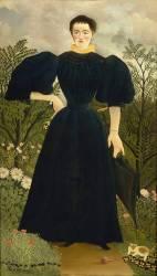 Portrait de madame M. (Le Douanier Rousseau) - Muzeo.com