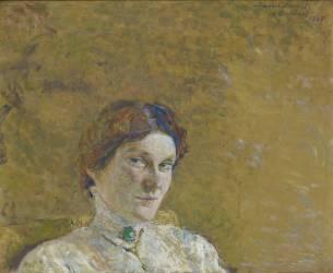 Portrait de madame Suzanne Desprès (Vuillard Edouard) - Muzeo.com