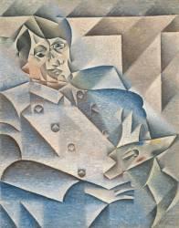 Portrait of Pablo Picasso (Gris Juan) - Muzeo.com