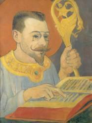 Portrait de Paul Ranson en tenue nabique (Serusier Paul) - Muzeo.com