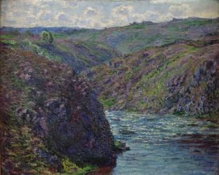Ravin de la Creuse au déclin du jour (Monet Claude) - Muzeo.com