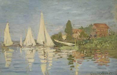 Régates à Argenteuil (Monet Claude) - Muzeo.com