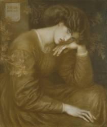 Reverie (Rossetti Dante Gabriel) - Muzeo.com