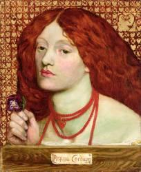 Regina Cordium (Rossetti Dante Gabriel) - Muzeo.com