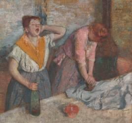 Repasseuses (Edgar Degas) - Muzeo.com