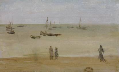 The Seashore (Whistler James Abbott McNeill) - Muzeo.com