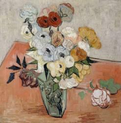 Roses and Anemones (Van Gogh Vincent) - Muzeo.com