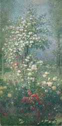 Roses, panneau décoratif (Quost Ernest) - Muzeo.com