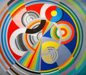 Rhythm no. 1 (Robert Delaunay) - Muzeo.com