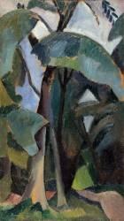 Landscape study, Saint Cloud (Robert Delaunay) - Muzeo.com
