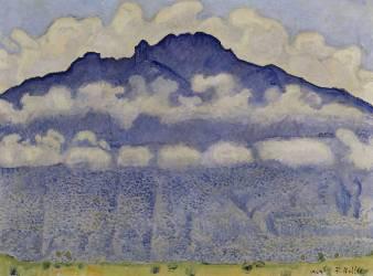 Schynige Platte, paysage de l'Oberland bernois, Suisse ou La Pointe d'Andey vue de Bonneville (Ferdinand Hodler) - Muzeo.com