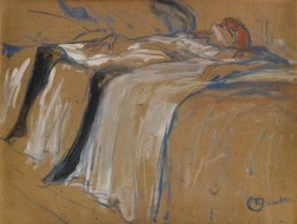 Seule (Toulouse-Lautrec Henri de) - Muzeo.com
