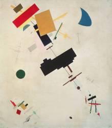 Suprematist Composition (Malevitch Kazimir) - Muzeo.com