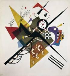On White II (Wassily Kandinsky) - Muzeo.com