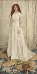 Symphony in White, No. 1: The White Girl (James Abbott McNeil Whistler) - Muzeo.com