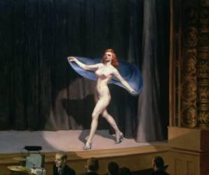The Girlie Show (Edward Hopper) - Muzeo.com