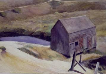 The Lewis Barn (Edward Hopper) - Muzeo.com