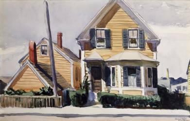The Yellow House (Hopper Edward) - Muzeo.com